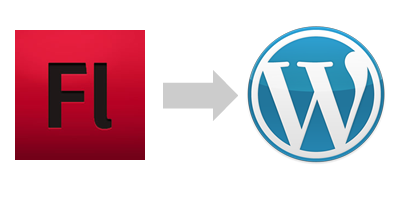 Migrating from Flash Website to WordPress