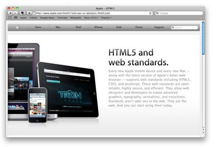 Apple y HTML5